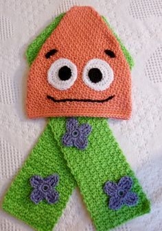 Crochet pattern inspired by Patrick Star SpongeBob SquarePants