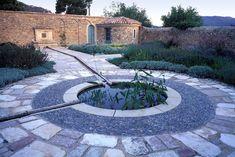 love the rill, design stone walls....  anthony paul design