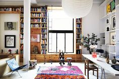 Modern library. Love this setup!!