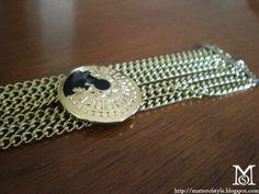 A Matter Of Style: DIY Fashion: Versace inspired bracelet DIY