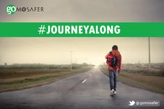 Leave your worries behind, wear a smile on your face, and #JourneyAlong.