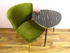 Vintage Sessel, Cocktailsessel, 50er 60er Jahre von ShabbRock Republic auf DaWanda.com