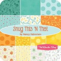 Snug This 'N That Fat Quarter Bundle Nancy Halvorsen for Benartex Fabrics