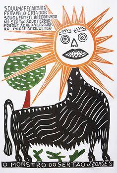 Arte Popular Brasileira: Exposição em SP celebra a trajetória de J. Borges, o maior xilogravurista pernambucano - Follow the Colours