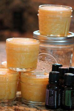 Homemade Coconut Oil Skin Polish
