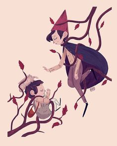 Now that it's officially fall I can't wait to watch Over the Garden wall again.