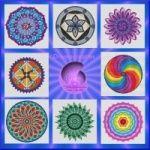 Mandala borduurpatronen in de webshop van Droomcreaties www.droomcreaties.nl op of etsy www.etsy.com/shop/droomcreaties