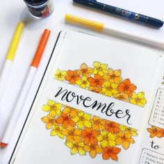 """Polubienia: 152, komentarze: 2 – Mary Beth (@maryberrystudy) na Instagramie: """"November Cover page in color! It's finally starting to get cold where I live. It might snow…"""""""