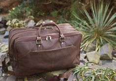 Large Leather Holdall Style 827