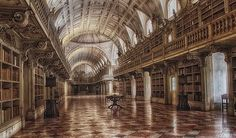 National Palace Library, Mafra, Portugal