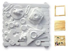 Art Projects for Kids: Louise Nevelson Found Sculpture