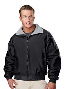 Nylon Jacket With Fleece Lining. Tri mountain 8600 #greatoffer #comfort  #amusthave