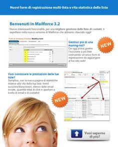 Mailforce 3.2: la nuova release per l'email marketing facile... ma professionale!