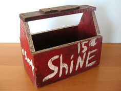 2. Vintage Shoe Shine Box. Just after arriving in New Orleans John walks through the streets trying to find a job and someone to be his contact. when he was a white man he talked to Stirling while he was having his shoes shined. Later as a negro he went back and talked to him again, telling him who he was. At first Stirling treated him a little different but went back to treating John like a black man.