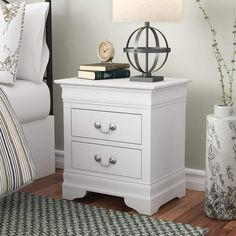Great for Babcock 2 Drawer Nightstand by Lark Manor top rated furniture sale from top store Decor, Rustic Nightstand, Upholstered Panels, Furniture, Upholstered Storage, Drawer Nightstand, Bedroom Furniture, Upholstered Platform Bed, Panel Headboard