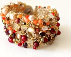 Crochet bracelet   Craftsy