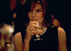 Rene Russo as Catherine Banning in The Thomas Crown Affair. I love how she looked and how she played this character. Who wouldn't want to be her?