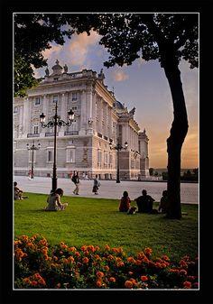Palacio Real, Madrid. Espa