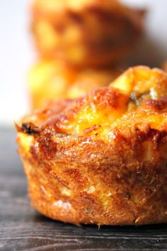 These Gluten Free Bacon, Egg, and Cheese Breakfast Muffins are perfect for making ahead of time and enjoying all month!