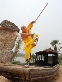 Shaolin Warrior Monk Shi Xing Wu
