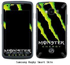 Samsung Rugby Smart Skin Monster Energy