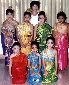 Traditional Thai Clothing examples