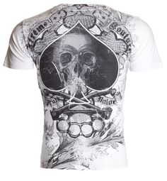 f865ed15 Details about Xtreme Couture AFFLICTION Mens T-Shirt OFFERING Tattoo Biker  MMA UFC M-4XL $40 d