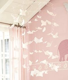 Pottery Barn Butterfly Mobile Tutorial with Guest - Natasha from