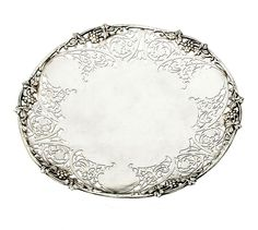 Sterling silver reticulated footed dish Shefield 1967 S J Rose & Son by SearchEndsHere on Etsy