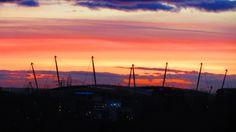 Etihad Stadium View over Manchester 17 By Tony Cordingley