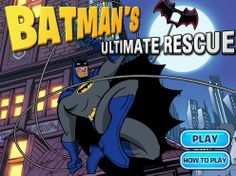 Batman Ultimate Rescue game online More Games, Best Games, Games To Play, Online Games For Kids, Play Online, Batman Games, Brave And The Bold, The Villain, Kids And Parenting