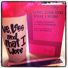 Read Thru happies - Love, Loss and What I Wore, 2013