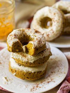 Chai Golden Milk Doughnuts - Connoisseurus Veg