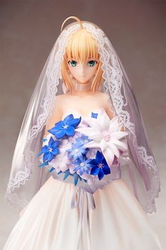 Fate/ Stay Night Statue 1/7 Saber 10th Anniversary Royal Dress Ver. 25 cm