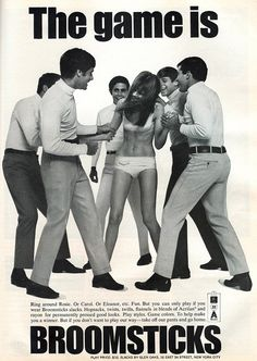 Move over, Paris and Kim! Long before the advent of sex tapes for personal promotion, women were modeling in their underwear with guys in cheesy slacks.
