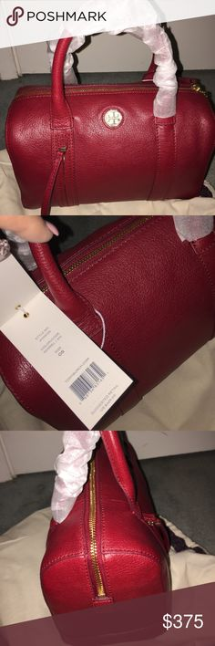Tory Burch NWT small Brody in color  Sorrel NWT Brody small  style #41159725 in the color Sorrel. Bought at the Tory Burch boutique and never used it, have way to many purses Tory Burch Bags Satchels