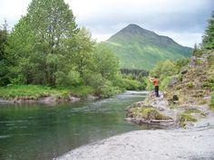 Fishing on the Buskin River,  Kodiak, Alaska  (photo by jone suleski)