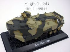 AAV-7 Assault Amphibious Vehicle - Marines 1/72 Scale Die-cast Model by Amercom