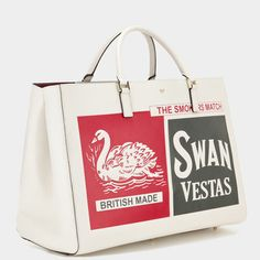 Anya Hindmarch Autumn Winter 2014, Swan and Vesta Maxi Featherweight Ebury