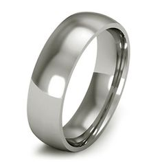 7MM Light Flat Gents Wedding Band Court Ring in by chandrajewellry, £800.00