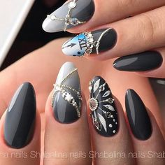 """1,009 Likes, 6 Comments - Ugly Duckling Nails Inc. (@uglyducklingnails) on Instagram: """"Beautiful nails by @shabalina_nails ✨Ugly Duckling Nails page is dedicated to promoting quality,…"""""""