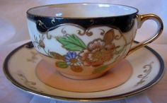 Decorative Dishes - Imari Cobalt Gold Hand Pnted Lustre Cup Saucer, $9.99 (http://www.decorativedishes.net/imari-cobalt-gold-hand-pnted-lustre-cup-saucer/)
