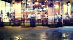 blurred background vintage filter