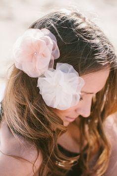Summerblossom Dreamcatcher Bridal Hair Accesories | photo by Luisa Brimble