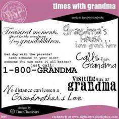 grandma quotes for scrapbooking