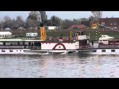 Dampfschiffe beim Kurs Elbe. Tag 2015 in Lauenburg