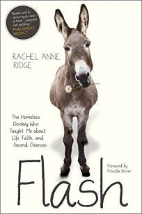 Nonfiction Book Review: Flash: The Homeless Donkey Who Taught Me About Life, Faith, and Second Chances by Rachel Anne Ridge. Tyndale, $19.99 (240p) ISBN 978-1-4143-9783-2