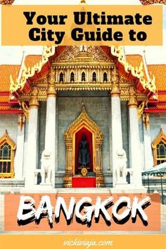Are you planning to visit Then you can find here our Ultimate Bangkok Itinerary for 5 days with the best places to visit during 5 days in Bangkok with practical information. Bangkok Thailand, Thailand Travel Guide, Bangkok Guide, Bangkok Itinerary, Bangkok Travel, Laos Travel, Travel Packing, Budget Travel, Kuala Lumpur