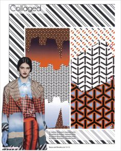 A/W 2013/2014 Print Trend- Collaged