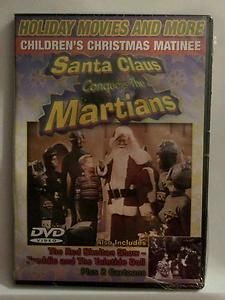 Santa Claus Conquers the Martians DVD